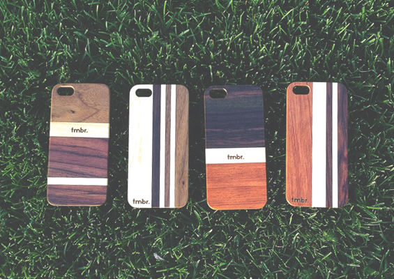 Wood iPhone 5/5S Cases