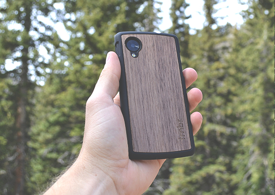 Nexus 5 Wood Cases