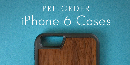 Wood iPhone 6 and iPhone 6 Plus Cases